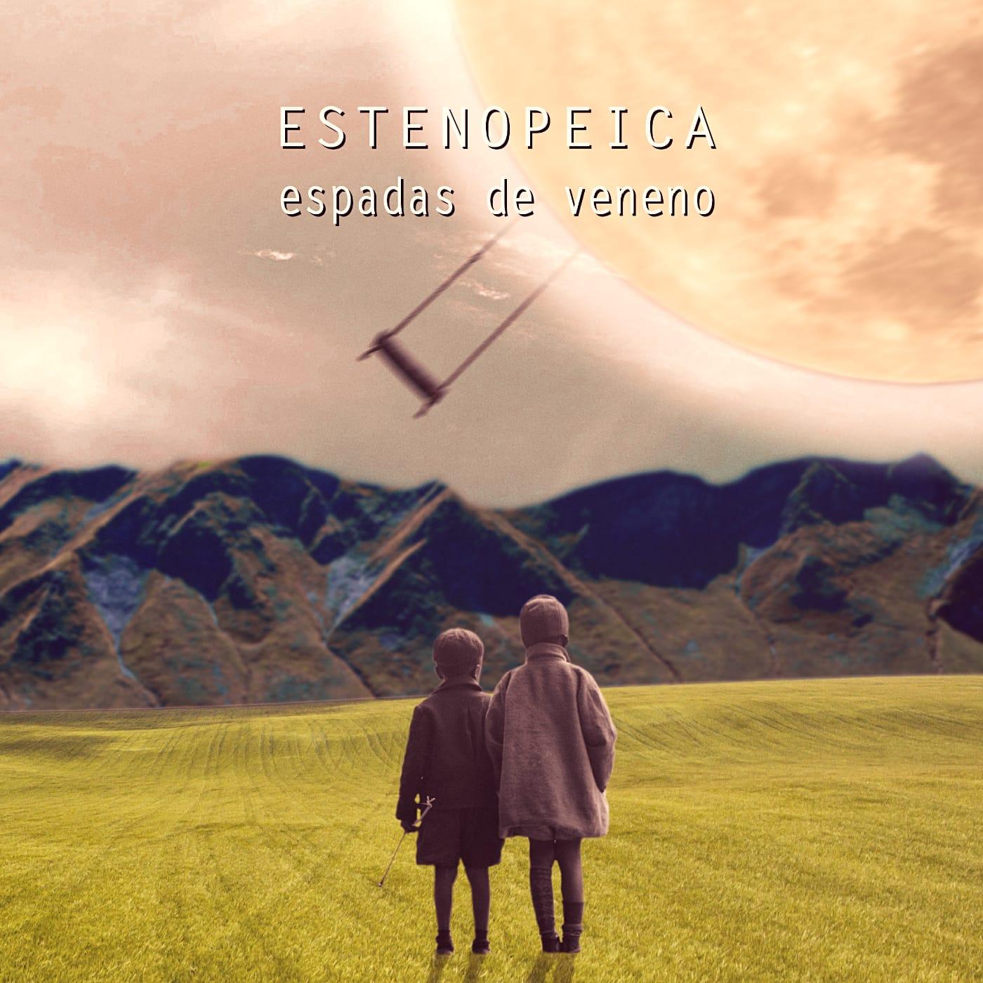 """Portada del single """"Espadas de Veneno"""", adelanto del segundo L.P."""